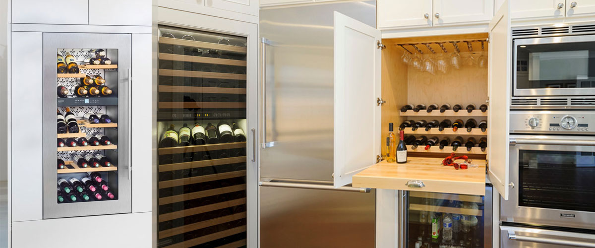 9 creative wine storage cabinet ideas design trends for Innovative cabinet design