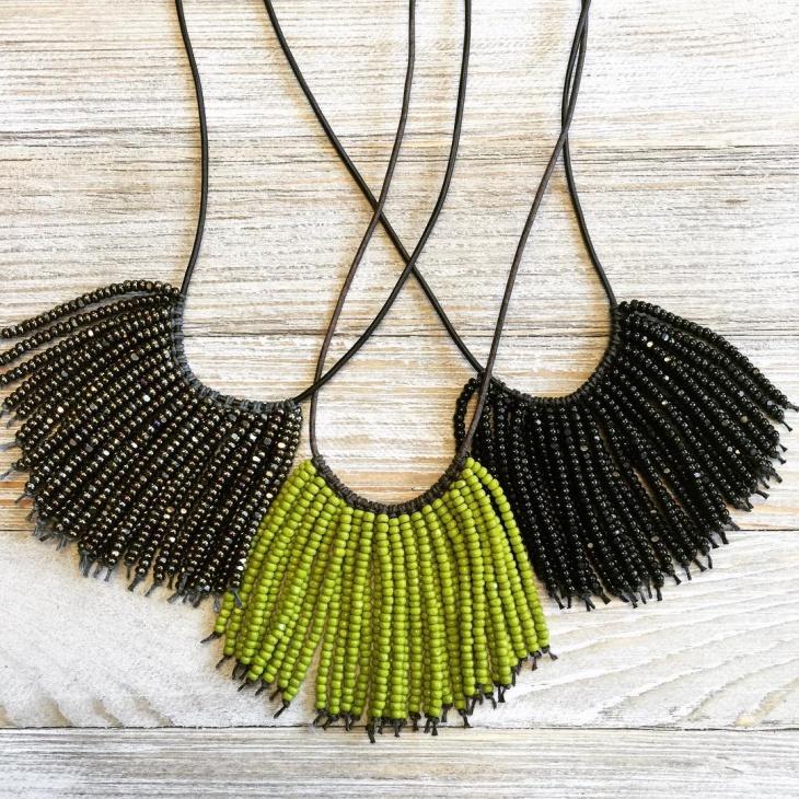bib handmade necklace