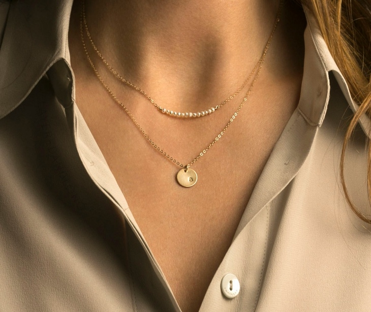 layered pearl necklace1