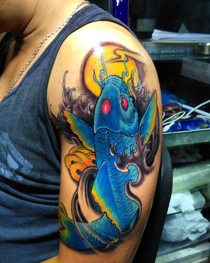 21 Koi Fish Tattoo Designs Ideas Design Trends Premium Psd