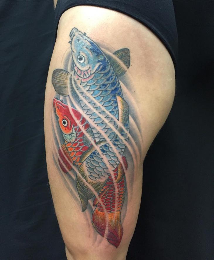 Koi Fish Tattoo Design: 21+ Koi Fish Tattoo Designs, Ideas