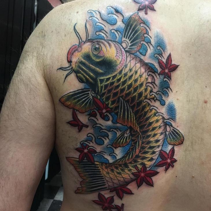 Fish Tattoos For Men: 21+ Koi Fish Tattoo Designs, Ideas