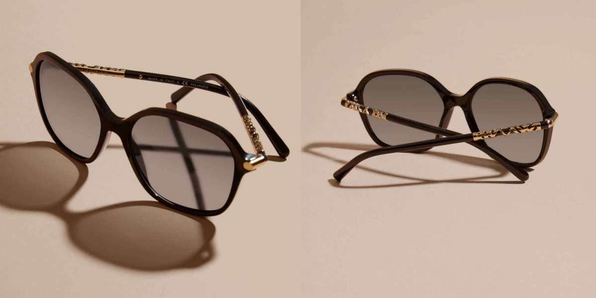 burberry-check-detail-sunglasses