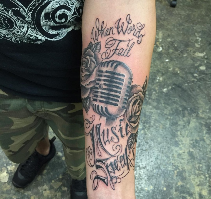 Tattoo Quotes Music