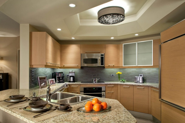 Kitchen Lighting Designs Ideas Design Trends Premium PSD - Kitchen ceiling lighting ideas pictures