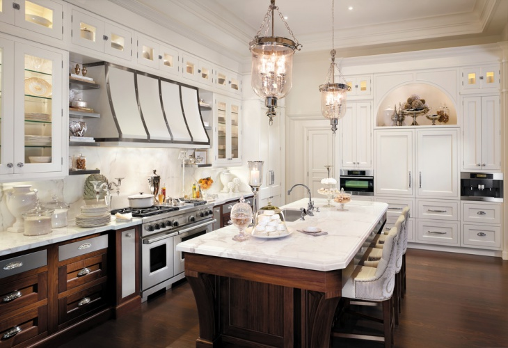 traditional home kitchen lighting