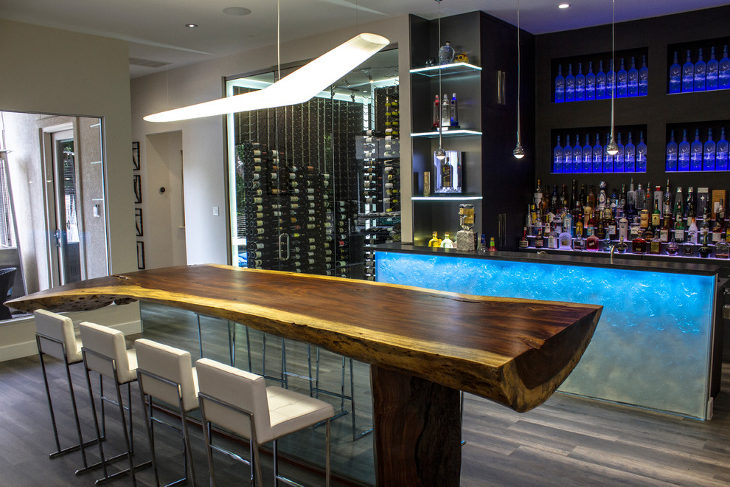 Wood Modern Bar Table