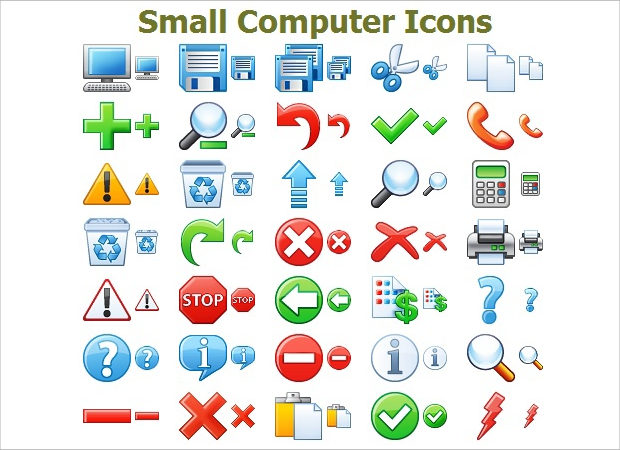 small-computer-icons