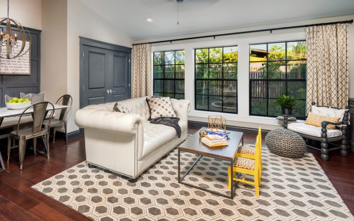 white tufted leather sofa design