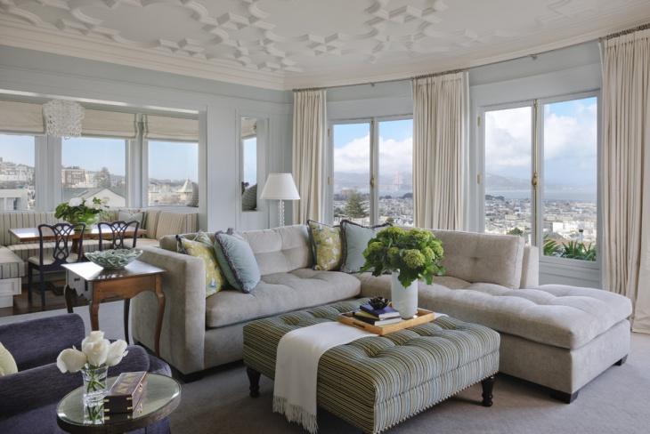 tufted corner sectional sofa