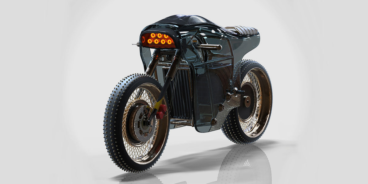sinister electric cafe racer by michael cohen