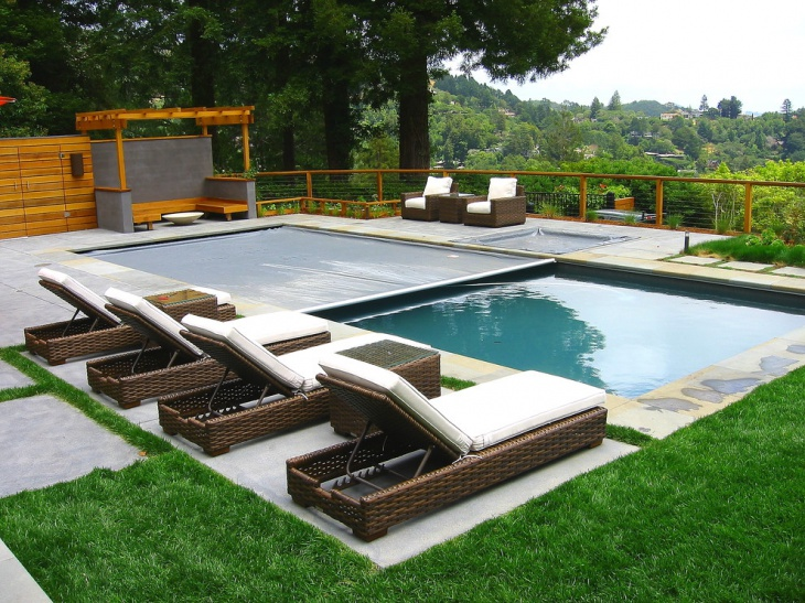 modern pool lounge furniture