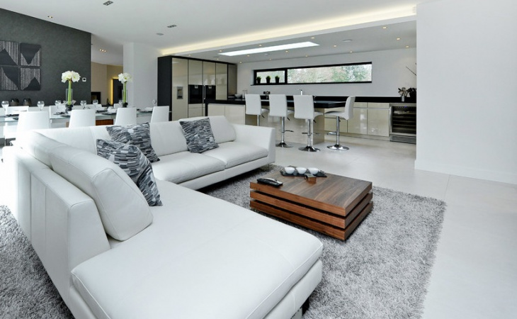 modern apartment living room furniture