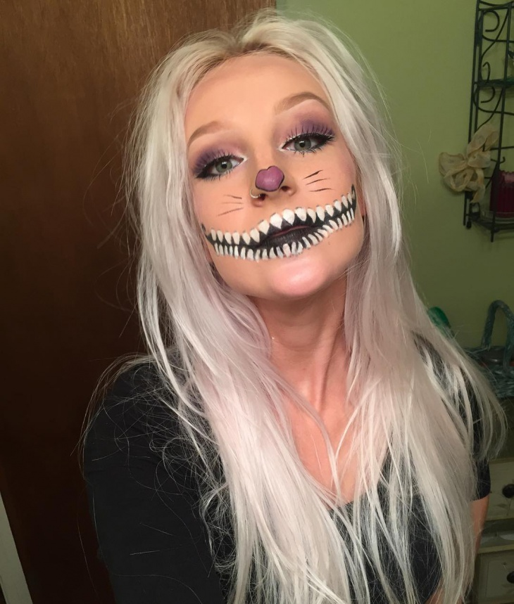 cheshire cat stage makeup