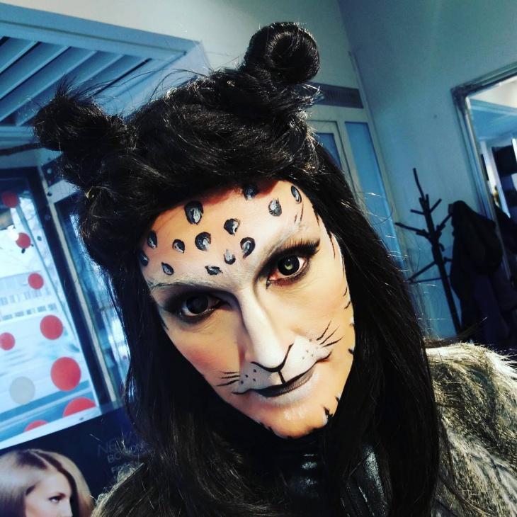 wild cat makeup for men