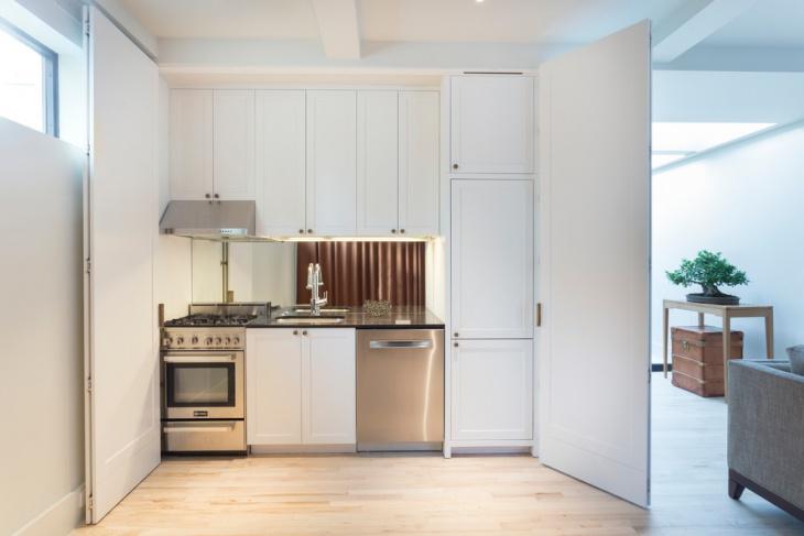 small kitchen storage cabinet