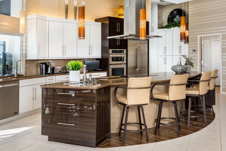 Contemporary Kitchen Island Cabinet