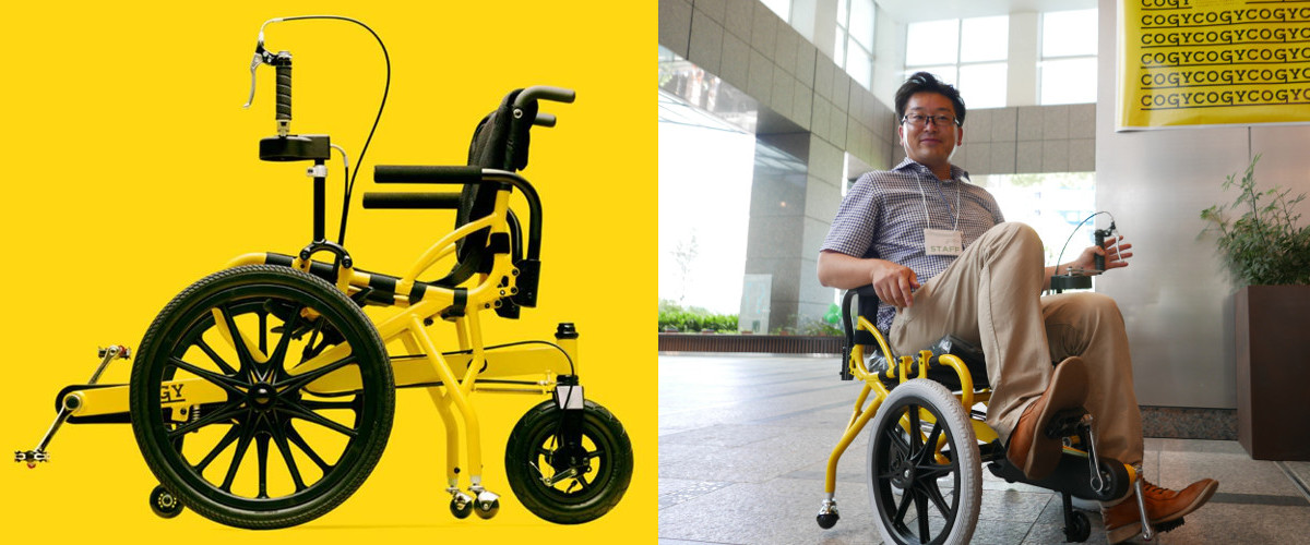 the cogy wheelchair by tess co