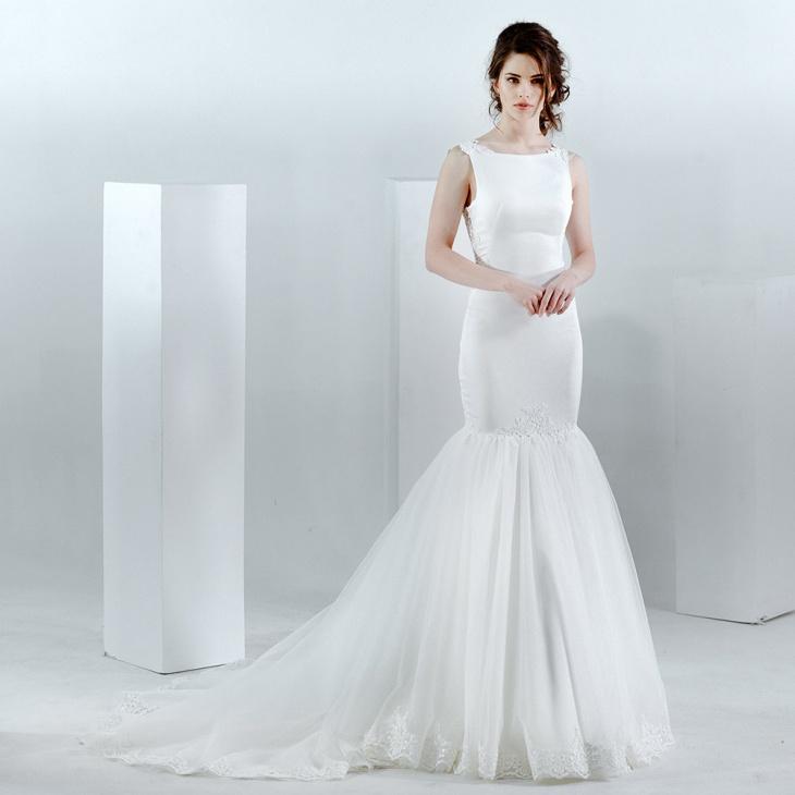 white mermaid lace maxi dress