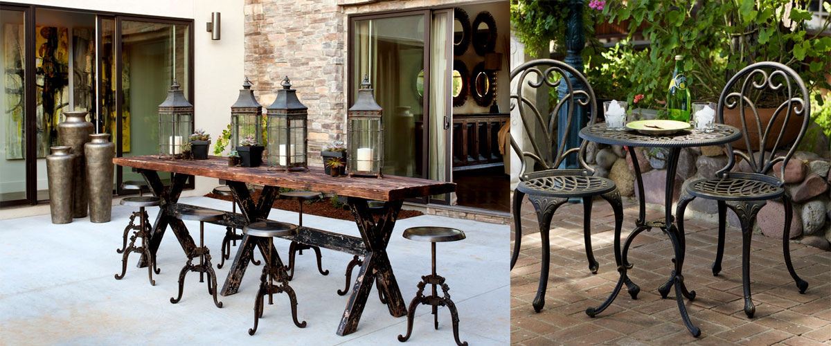vintage patio