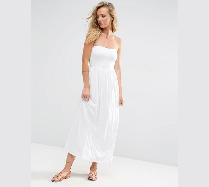 halter strapless white maxi dress1