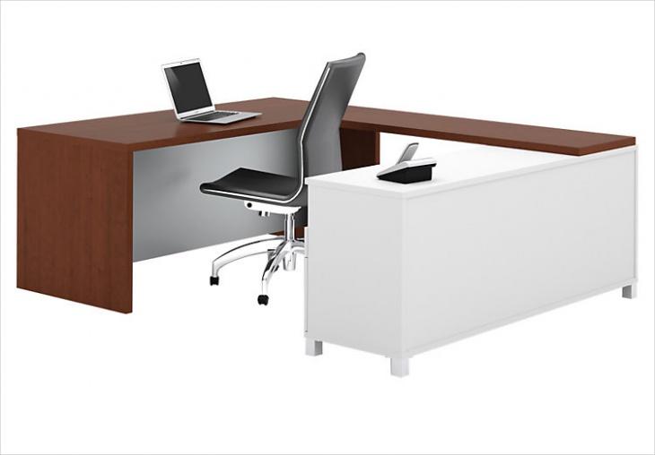 Modern U Shaped Executive Desk