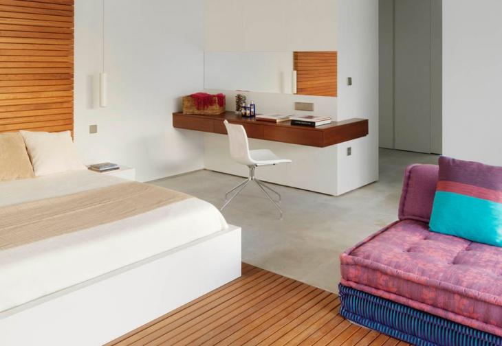 modern bedroom vanity desk design