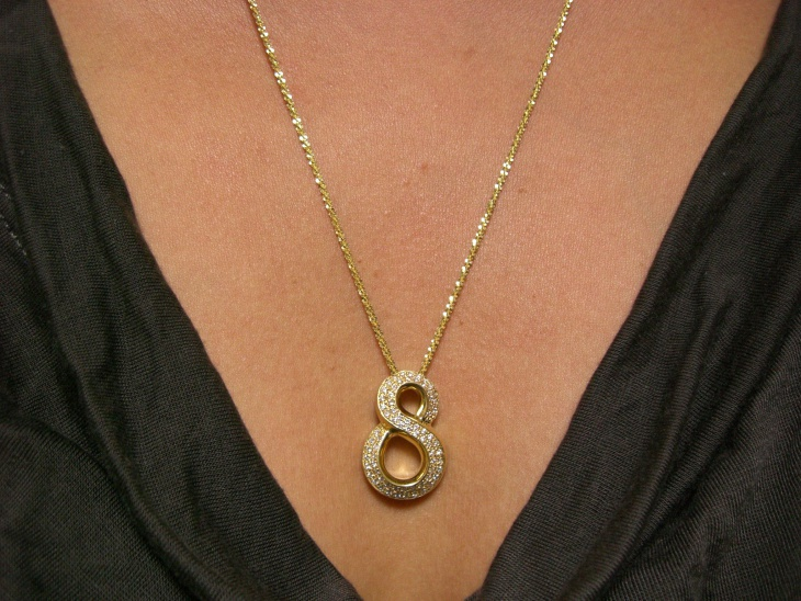 long gold stone necklace