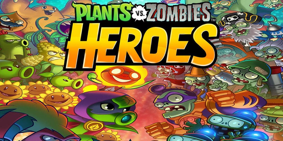 plants vs zombies heroes app