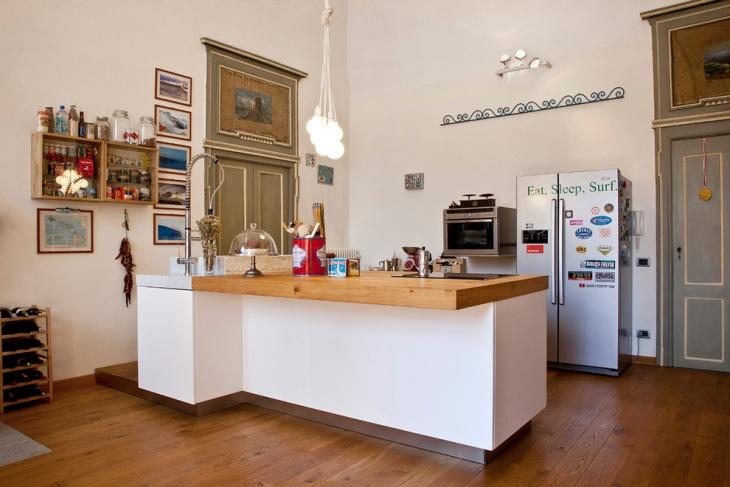 tiny diy kitchen storage idea