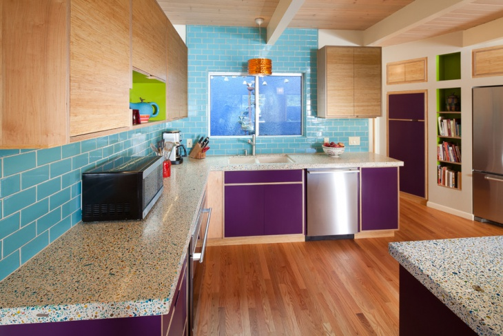 cool kitchen wall tile design