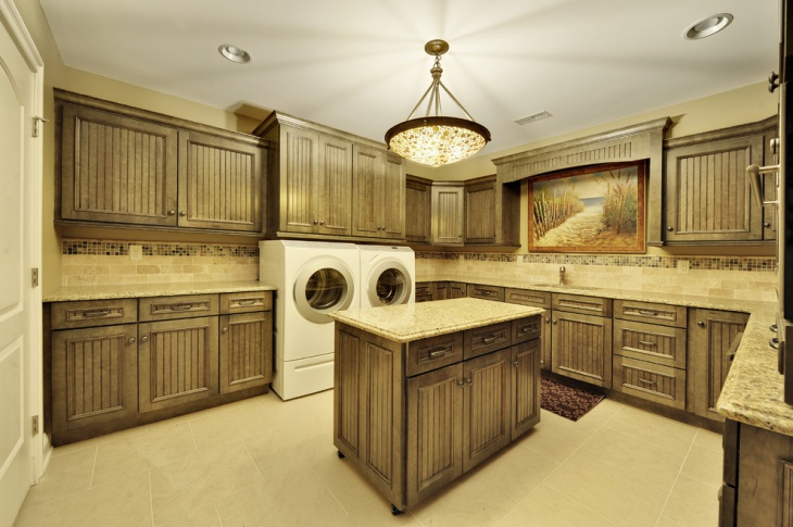 laundry room floor cabinets