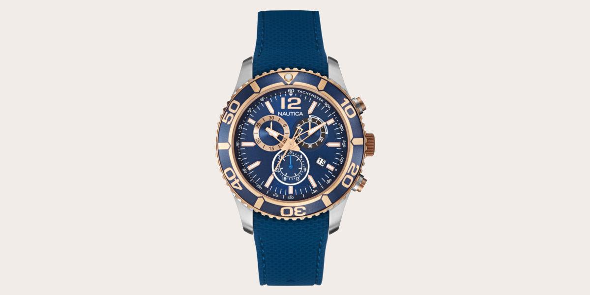 nautica chronograph watch