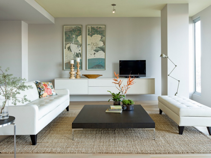 Modern Small Apartment Living Room