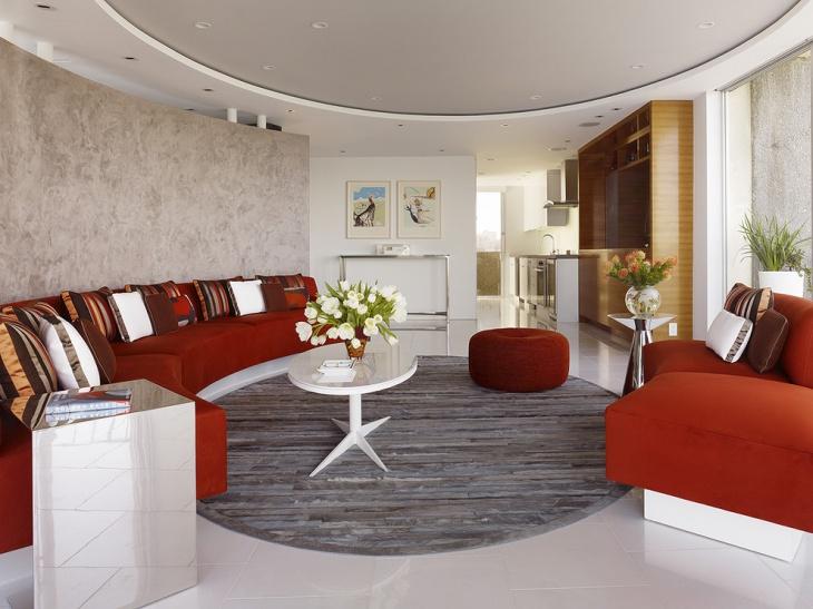 Modern Apartment Living Room Interior