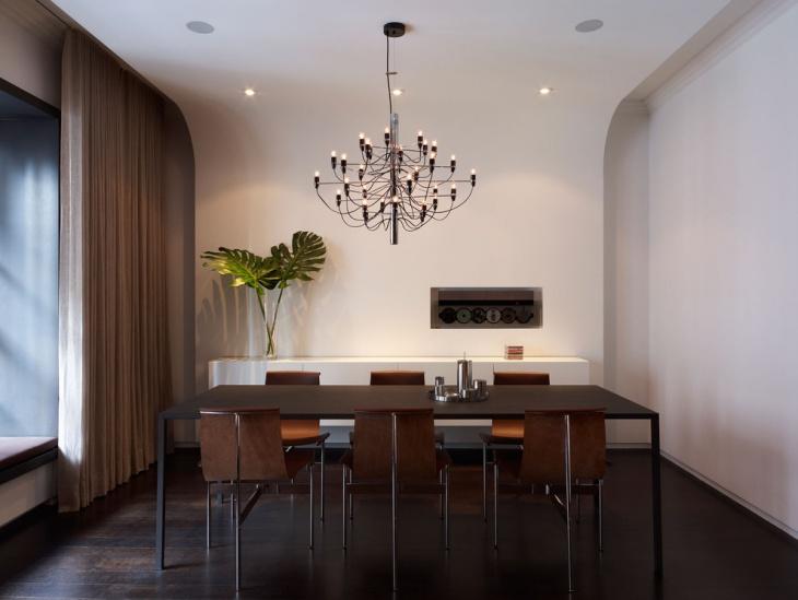 modern dining room cahndelier lighting