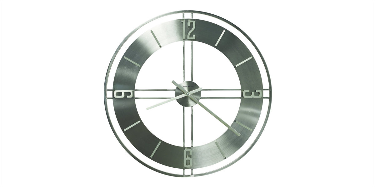howard miller stapleton contemporary wall clock