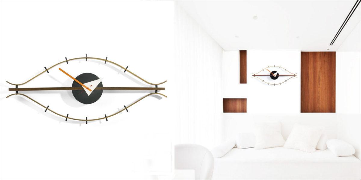 vitra nelson eye clock