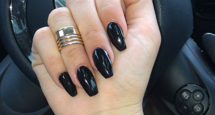 20 Coffin Nail Designs Ideas Design Trends Premium Psd Vector Downloads Many black nail designs are bold, striking, and dramatic. 20 coffin nail designs ideas design