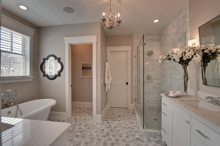 small guest bathroom decorating idea