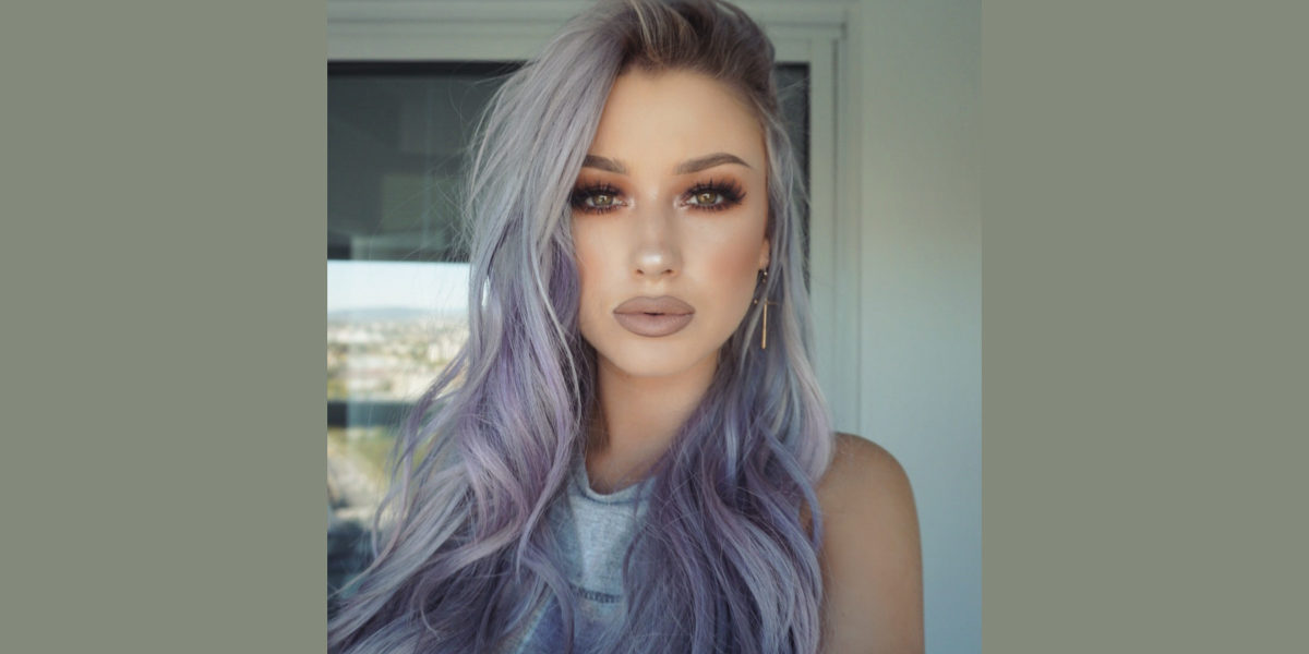 Grey With Lavender