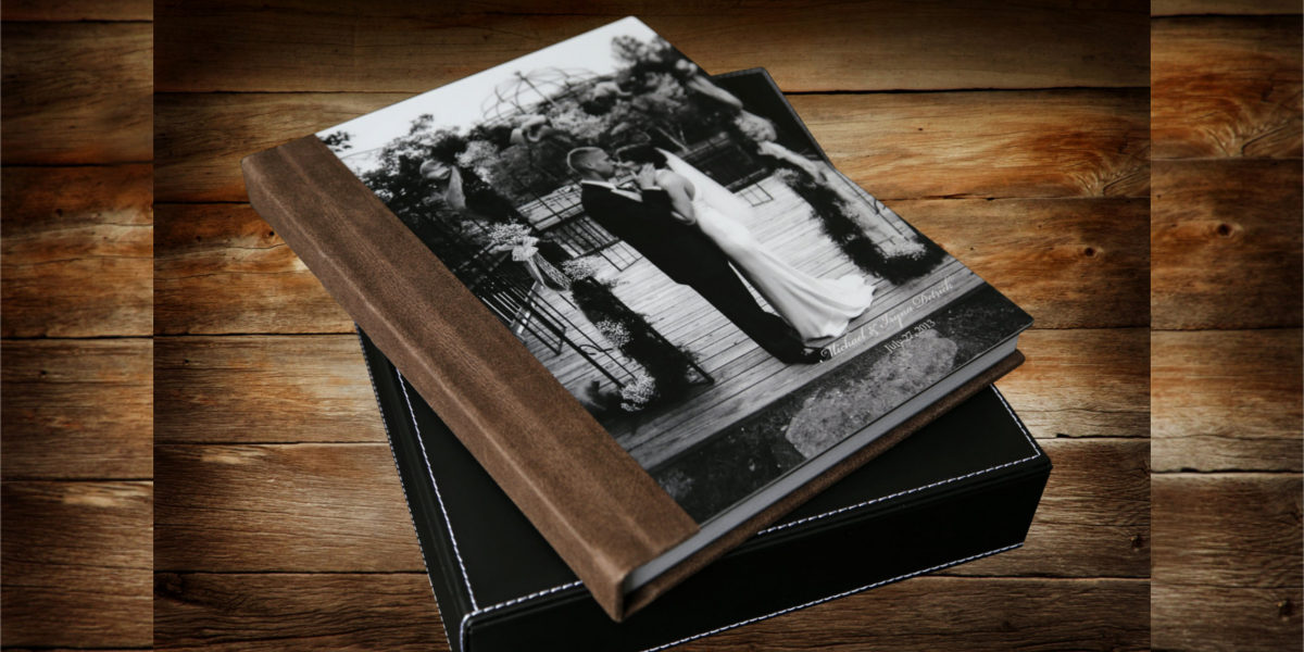 metal cover wedding albums