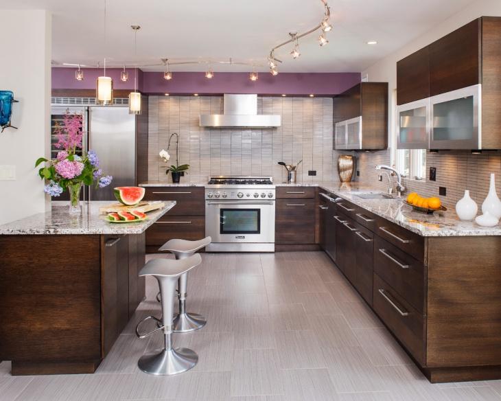 classic vinyl kitchen flooring