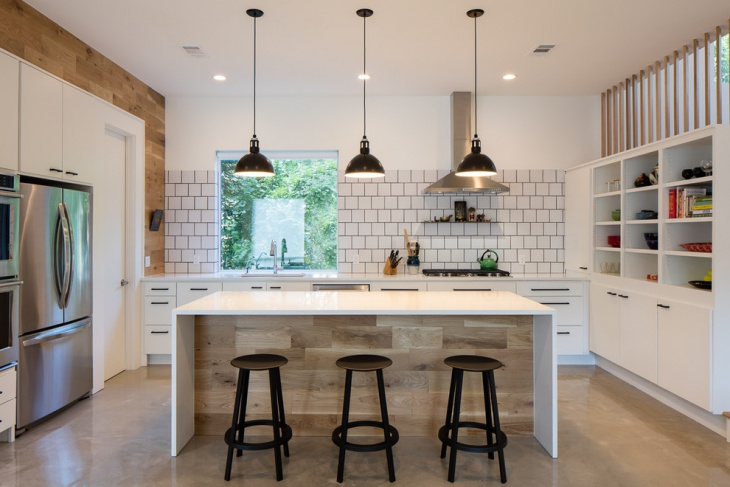 Farmhouse pendant lights perfect industrial kitchen for Latest kitchen island designs