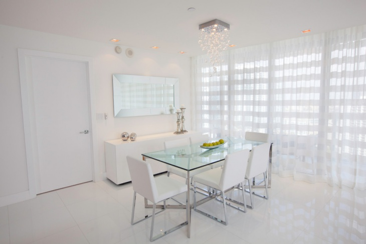 modern dining room white crystal chandelier