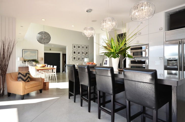 modern pendant chandelier for kitchen