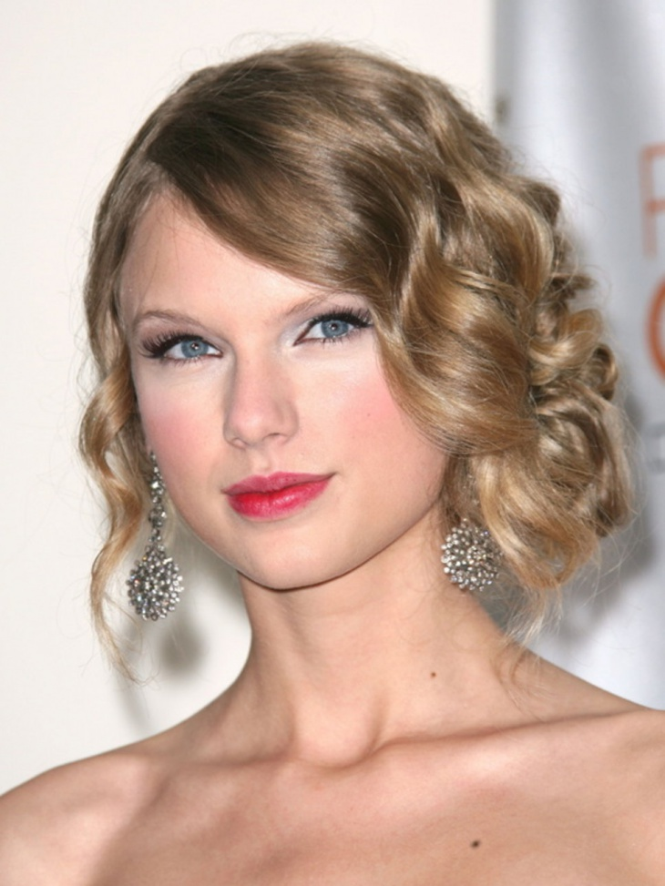 Taylor Swift Wedding Hairstyles For Medium Length Hair