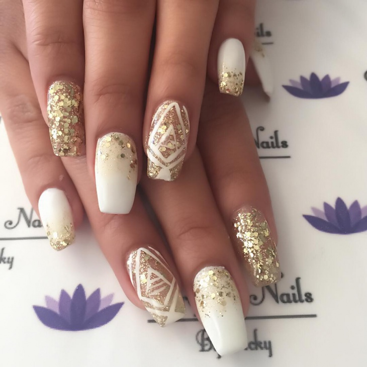 20+ New Year Nail Designs, Idea | Design Trends - Premium PSD ...
