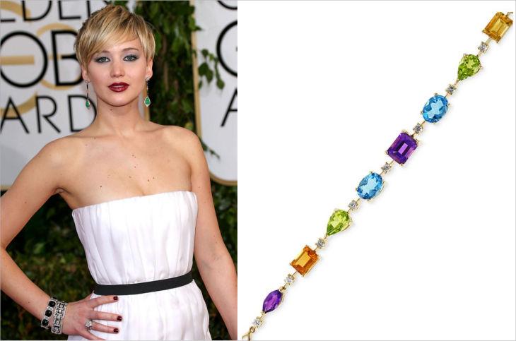 effy multicolor tennis bracelet in 14k gold