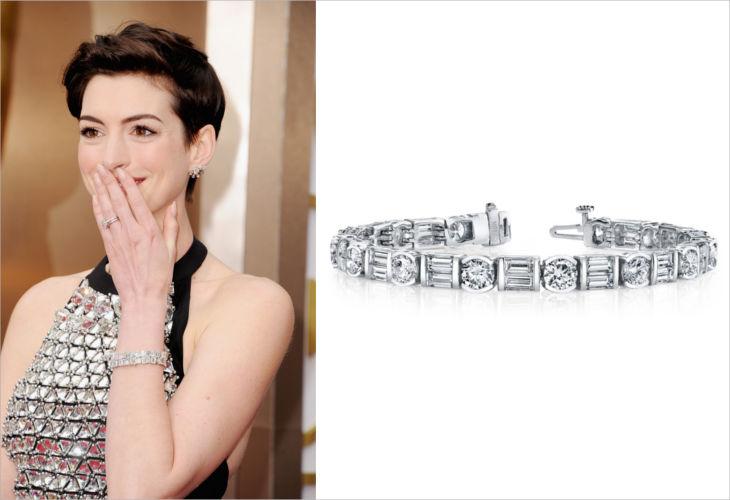 14k white gold tdw diamond tennis bracelet